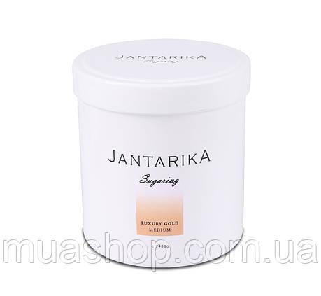 Сахарная паста JANTARIKА LUXURY Gold Medium (Средняя) 1,4 кг, фото 2