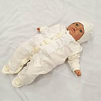 Человечек (Ваниль) + шапочка для новорожденных, фото 1