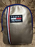 Рюкзак tommy Томми качество искусств кожа городской спортивный стильный только оптом, фото 2