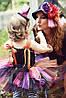"""Карнавальний костюм,сукні приємно ва-сарафан з фатину """"ВІДЬМОЧКА"""", фото 4"""