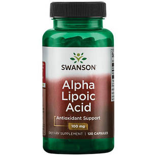 Swanson Alpha Lipoic Acid 100 mg 120 капс