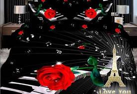 Постельное белье Love You - Мелодия сатин семейное