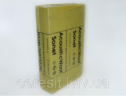 AcousticWool Sonet F 20 мм (акустична вата для підлоги)