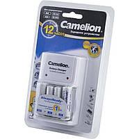 Зарядное устройство универсальное Camelion 2AA, 2AAA +2AA аккумулятор 2100mAh/4AA аккумулятор 2700mAh BC-1010
