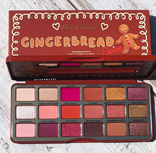 Тени для век Too Faced Gingerbread Spice Eye Shadow Palette