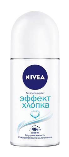 Дезодорант шариковый женский Nivea Эффект хлопка