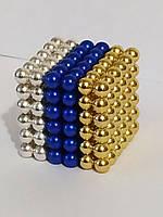 Головоломка Neocube Неокуб Комбо 4 [5мм * 216 шариков] + Коробка + мешочек  в Подарок