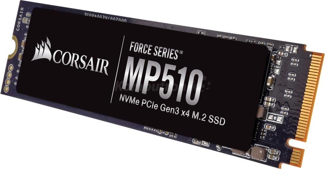 SSD Corsair Force Series MP510 M.2 PCIe NVMe 960GB (CSSD-F960GBMP510)
