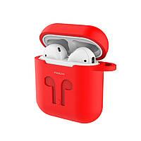 Силиконовый чехол ROCK Carrying Case Red для Apple AirPods
