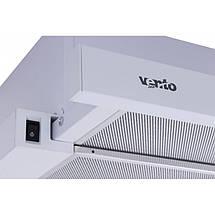 Вытяжка VENTOLUX GARDA 60 WH 700 SLIM, фото 3