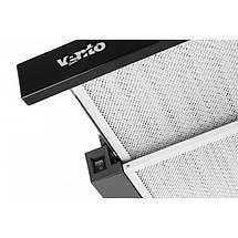 Вытяжка VENTOLUX GARDA 60 BK 750 SMD LED , фото 2