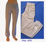 Спортивные брюки женские трикотажные. Мод. 1070. Разные цвета., фото 3