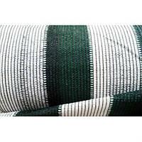 Сетка затеняющая 100% 2м х 50м, бело-зелёная, Отрада, Украина