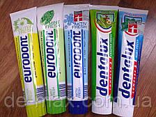 Зубные пасты Dentalux Eurodont Elkos