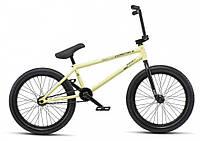 Велосипед WeThePeople BMX Reason 20.75 Matt pastel yellow 2019