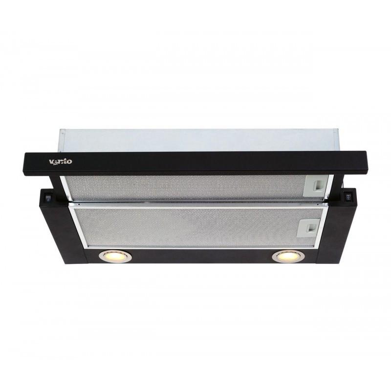 Вытяжка VENTOLUX GARDA 60 BK 750 SMD LED