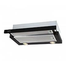 Вытяжка VENTOLUX GARDA 60 BK 750 SMD LED , фото 3