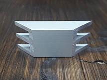 Радиатор ш-образный 15х10 без покрытия, фото 3