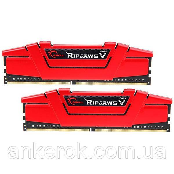 Оперативна пам'ять G.Skill 16 GB (2x8GB) DDR4 3600 MHz Ripjaws V (F4-3600C19D-16GVRB)