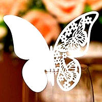 Набор бабочек -10 шт. (белых), фото 1