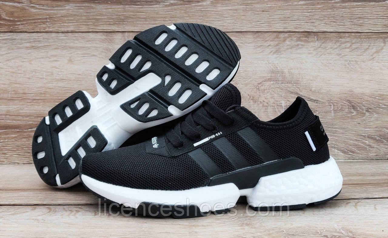 Детские, подростковые кроссовки Adidas POD S3.1 Black