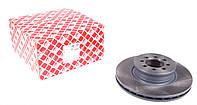 Диск тормозной передний Sprinter / Мерседес Спринтер  (905) 616CDI с 2001 - 2006 вентилируемый  Febi Германия