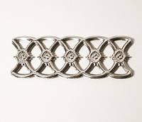 Фриз 120*300mm декоративный для кованных заборов и ворот из нержавеющей стали