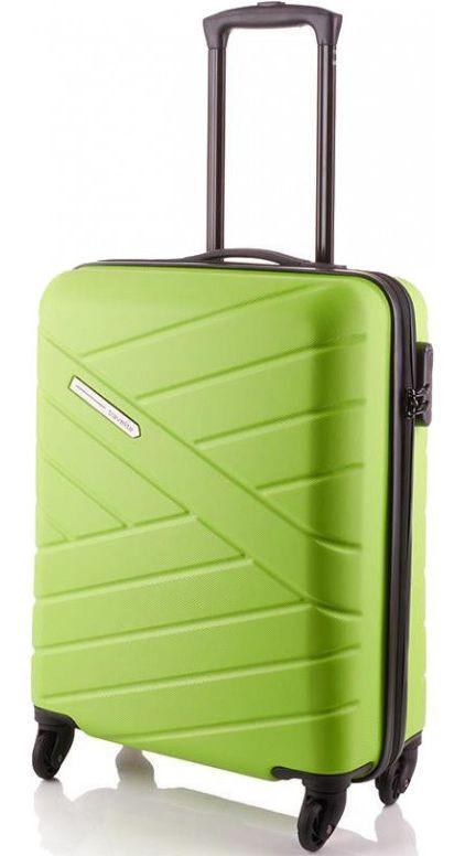 Пластиковый чемодан малый Travelite BLISS TL074847-83 38 л, зеленый