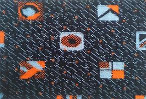 Автовелюр цветной Maiami (тягучий), на поролоне и сетке