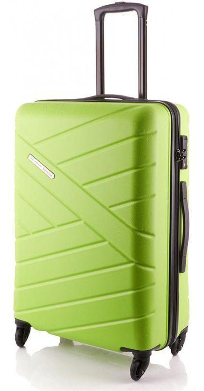 Пластиковый чемодан средний Travelite BLISS TL074848-83 68 л, зеленый