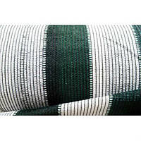 Сетка затеняющая 100% 4,2м х 50м, бело-зелёная, Отрада, Украина