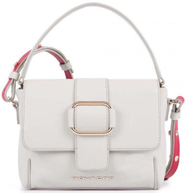 Кожаная сумка женская Piquadro LOL BD4703S102_SA, бежевый
