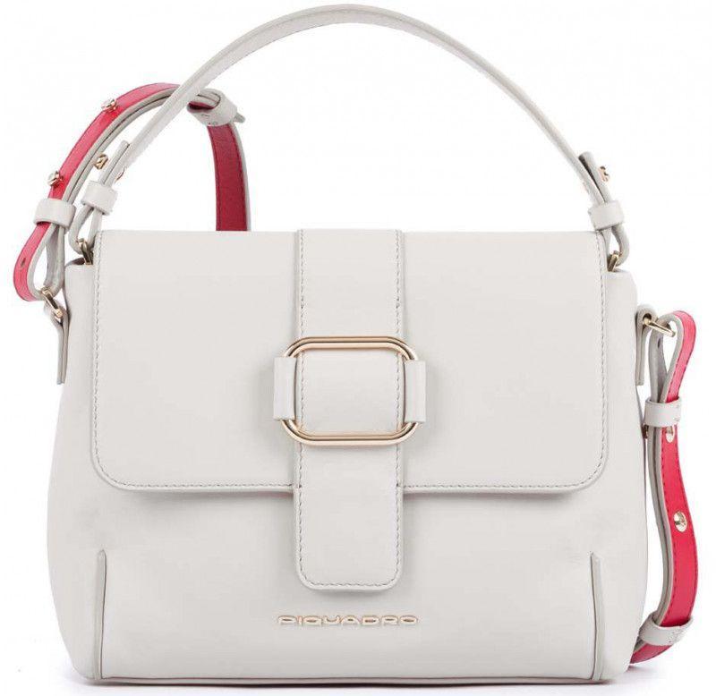 Кожаная сумка женская Piquadro LOL BD4704S102_SA, бежевый