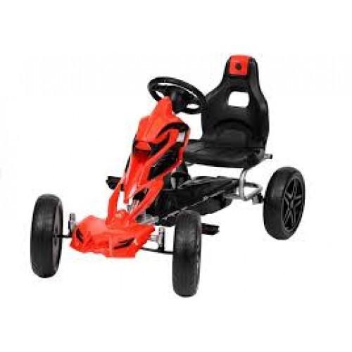 Детский спортивный картинг на педалях с ЕВА колесами GM504.