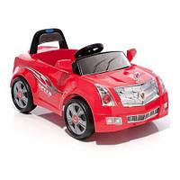 Электромобиль детский /машина/ LW846Q - J107 Кадиллак красный, желтый