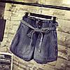 Джинсовые шорты женские на резинке