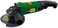 Машина углошлифовальная (Болгарка,УШМ) Procraft PW1200 (Длинная ручка 125мм)