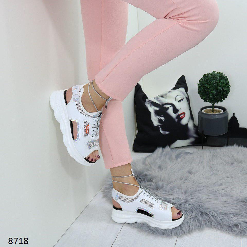 776df0a5b3b5 Крутые сандалии женские под кроссовки, на шнуровке, открытый носок,  размеры: 36, 37, ...