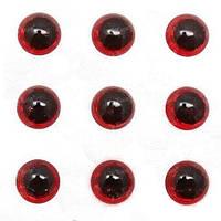 Глазки для воблеров 3D Strike Pro 5мм красные 25шт