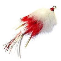 Когут на судака Strike FG69 White-Red №2