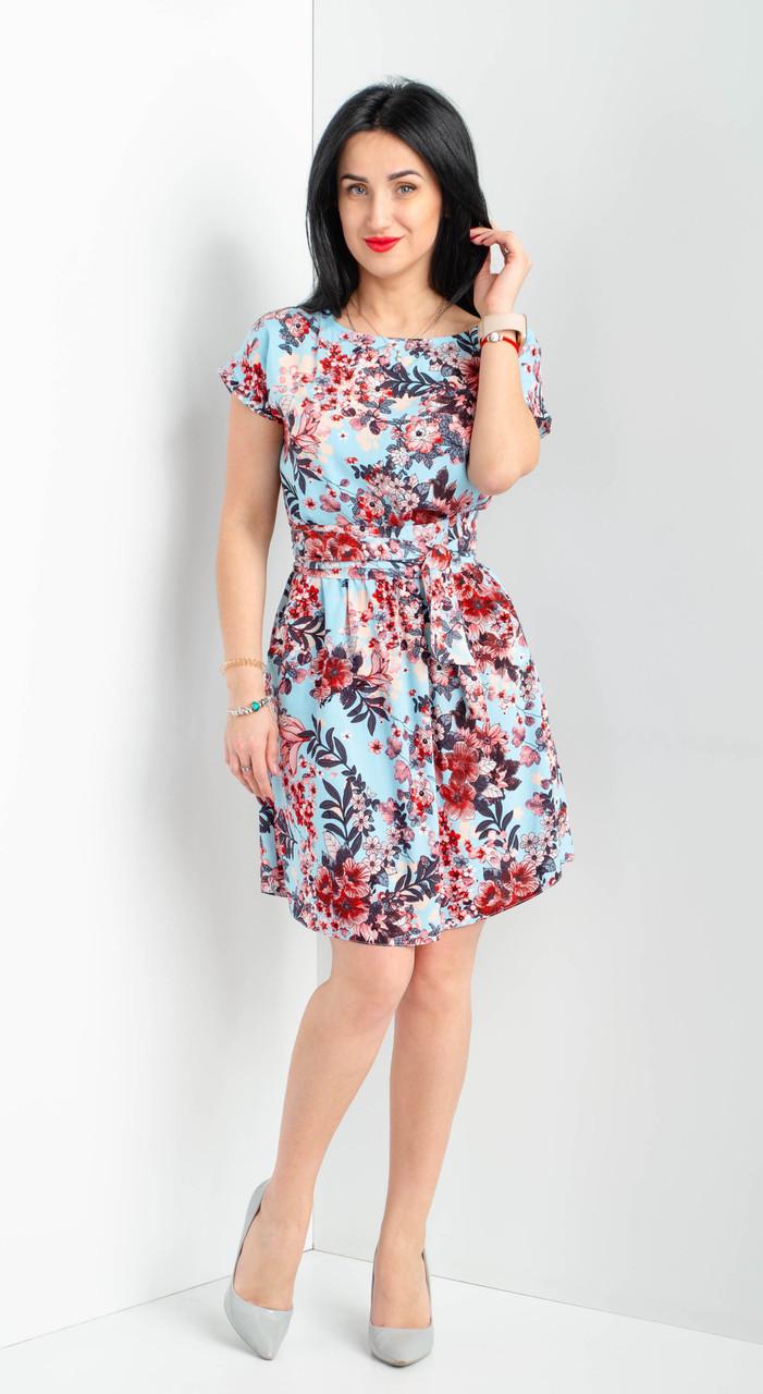 Коротенькое платье из штапеля недорого