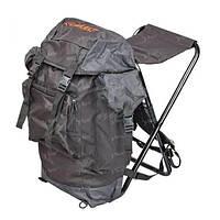 Рюкзак со стулом Select черный
