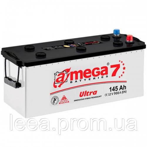 """Аккумулятор A-Mega Ultra (M7) Flat 6ст - 145 Ah 900 A """"+"""" слева"""