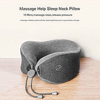 Подушка с массажером Xiaomi LF LeFan Comfort-U Pillow Massager, фото 7