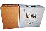 Сигаретные гильзы Gama 1000 шт + машинка для набивки сигаретных гильз, сигарет, фото 2