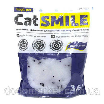 Наполнитель силикагель с ароматом лаванды Cat Smile 3,6 л мешок