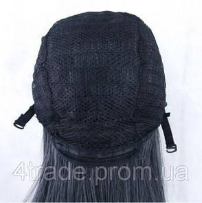 Парики с хвостиками, 65см, Черно-белые волнистые волосы, косплей, анимэ, фото 2