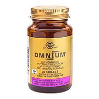 Мультивитаминный комплекс Солгар Омниум таблетки №30