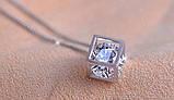 Парные кулоны для влюбленных Алмазный куб, фото 10
