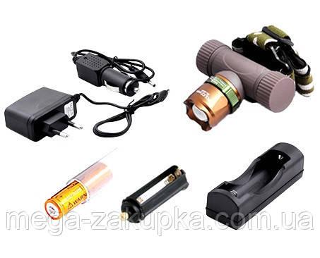 Ультрафиолетовый фонарь на лоб Police 6866-UV